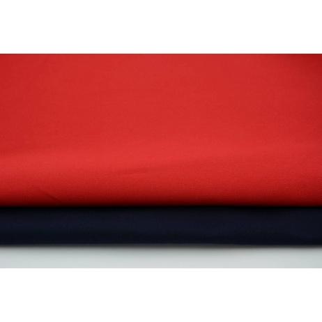 Drelich, bawełna 100%, czerwona jednobarwna - wino 280g/m2