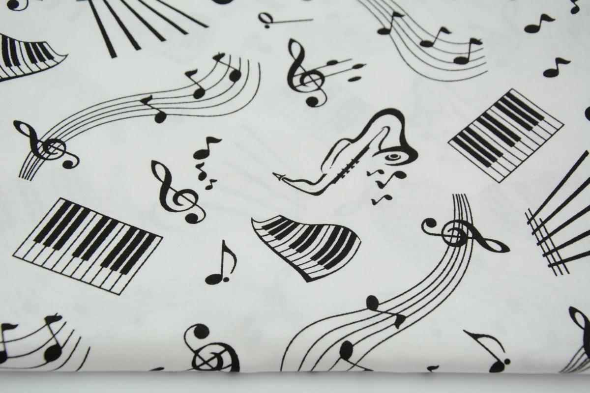 Bawełna 100% Muzyka, Nutki