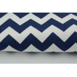 HD chevron zygzak granatowy HOME DECOR