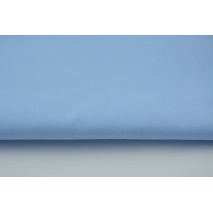 Bawełna 100% niebieski jednobarwna