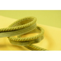 Lime 6mm Cotton Cord with ribbon