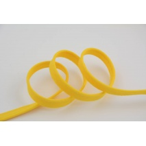 Cotton edging ribbon yellow No. 2