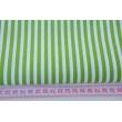 Bawełna 100% zielone paski 5mm