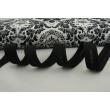 Cotton bias binding black