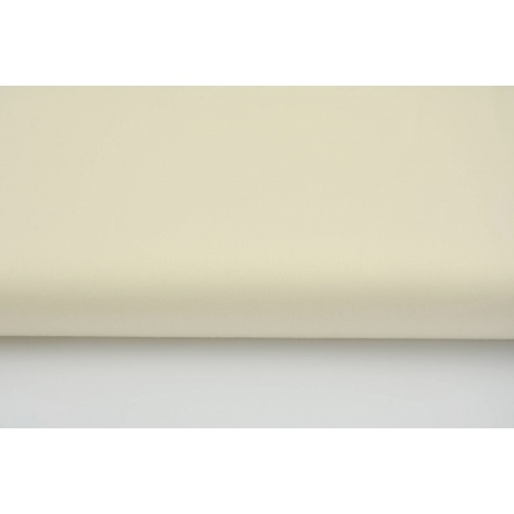 Cotton 100% plain sateen vanilla