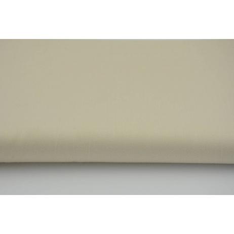 Cotton 100% plain sateen light beige