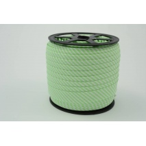Cotton bias binding 2mm aquamarine stripes