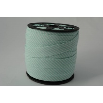 Cotton bias binding 2mm mint stripes