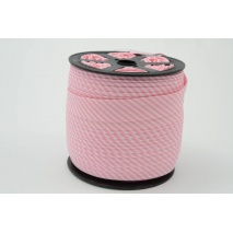 Cotton bias binding 2mm pink stripes