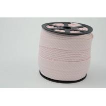 Lamówka bawełniana w 2mm j.różowe paseczki