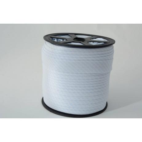 Cotton bias binding 2mm light blue stripes