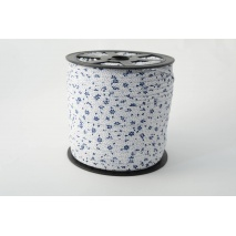 Cotton bias binding navy meadow