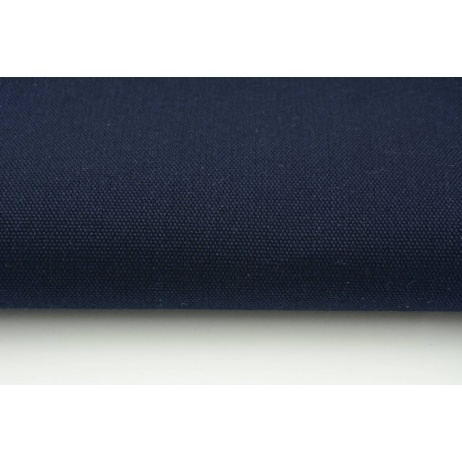 HOME DECOR plain navy 100% cotton