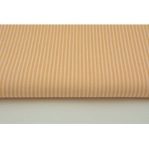 Cotton 100% peach stripes 2x1mm