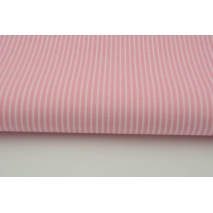 Cotton 100% pink stripes 2x1mm