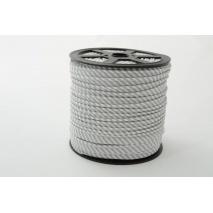 Cotton edging ribbon 2mm light gray stripes