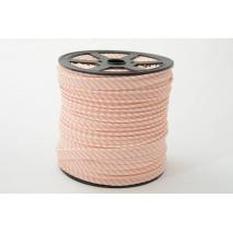 Cotton edging ribbon 2mm salmon stripes