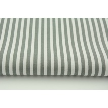 Cotton 100% stripes 5mm gray No 2