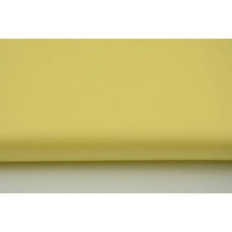 Bawełna 100% satyna żółta