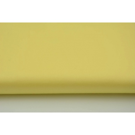 Cotton 100% plain yellow sateen