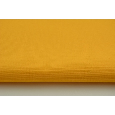 HOME DECOR plain yellow-orange 100% cotton