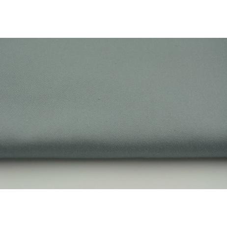 Drill, 100% cotton fabric in a plain graphite colour
