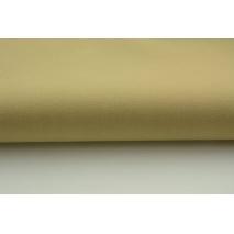 Drelich, bawełna 100%, jednobarwna średni beż