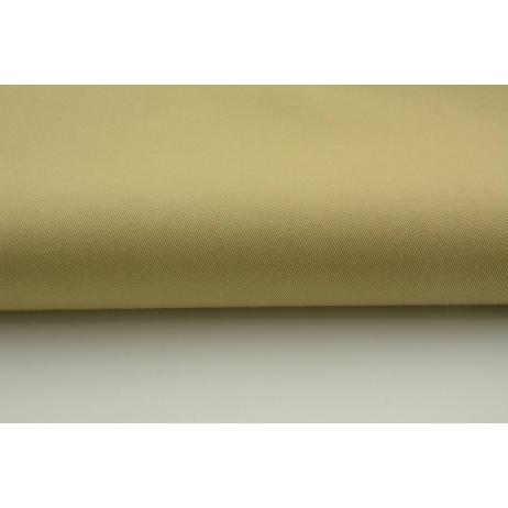 Drelich, bawełna 100%, jednobarwna beżowa