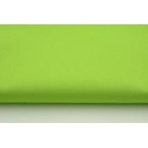 Drill, 100% cotton fabric in a plain green apple colour