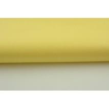 Bawełna 100% żółta jednobarwna porcelanowa