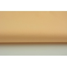 Cotton 100% plain light apricot