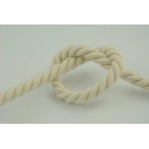 Sznurek bawełniany naturalny o średnicy 10mm
