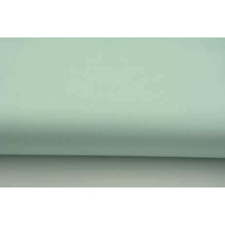 Cotton 100% plain mint sateen