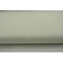 Bawełna prążkowana kremowa jednobarwna