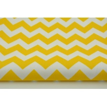 HD chevron zygzak żółty HOME DECOR