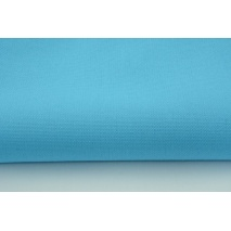 HOME DECOR plain intensive turquoise 100% cotton