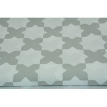 "Cotton 100% light gray ""x"" on a white background"