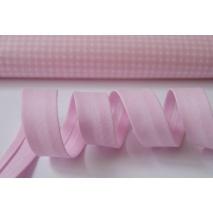 Lamówka różowa 18mm 1mb