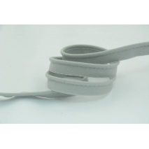 Cotton edging ribbon light gray
