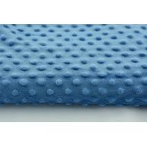 Polar z wytłaczanymi bąbelkami minky ciemny niebieski 350g/m2