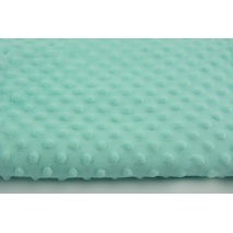 Polar fleec bubbled minky mint colour