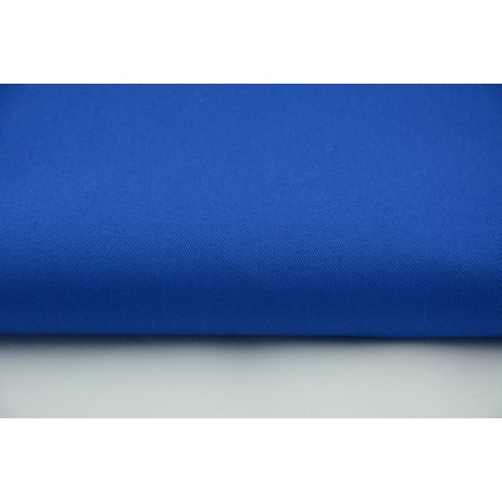 Drill, 100% cotton fabric in a plain cornflower colour