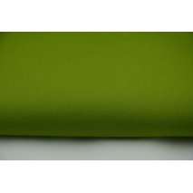 Drill, 100% cotton fabric in a plain green colour