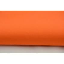 Drill, 100% cotton fabric in a plain intense, bright orange colour
