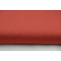 Drill, 100% cotton fabric in a plain ginger colour