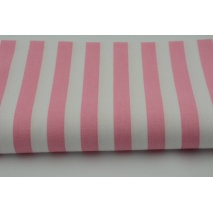 Cotton 100% pink 2 stripes 15mm