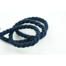 Navy 10mm Cotton Cord