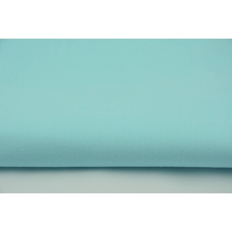 Cotton 100% plain light turquoise