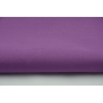 Cotton 100%, plain plum color