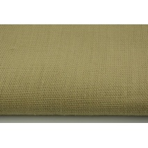 100% plain linen 350g/m2 in beige color